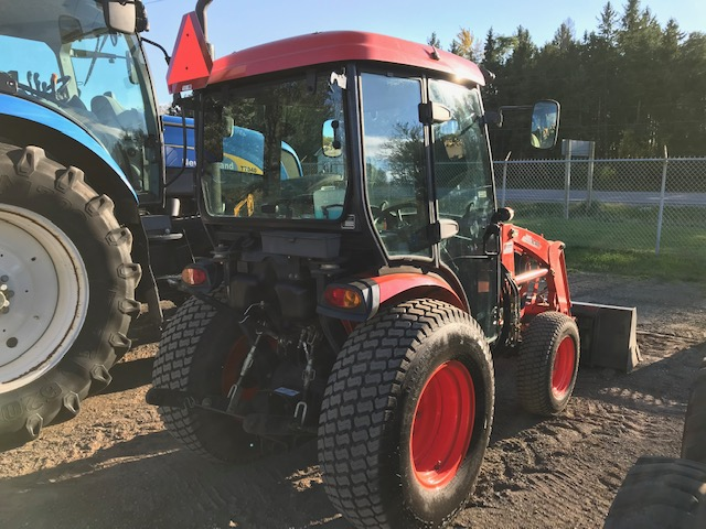 Kioti CK4010 HST cab loader for sale