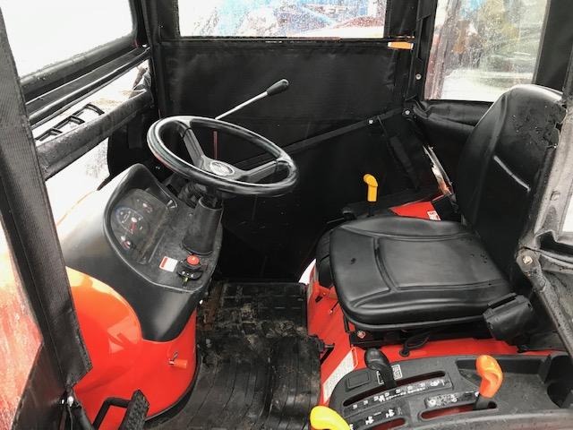 Kioti CS2410 sub compact tractor cab blower package