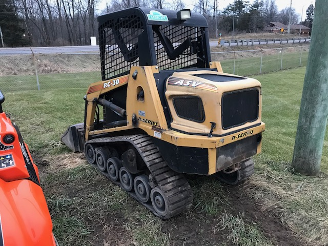 ASV RC30 compact track loader for sale