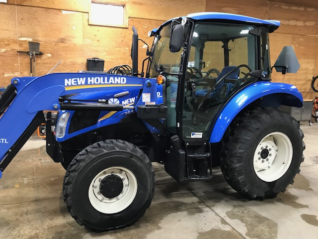 New Holland Powerstar 4.75 Tractor with 133hrs only!