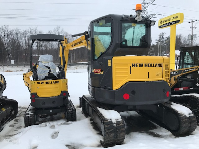 New Holland E60C DEMO Excavator for sale