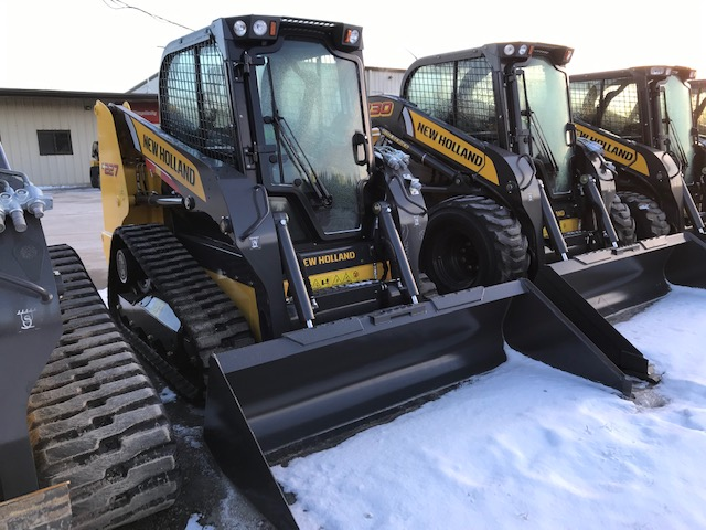 New Holland C227 compact track loader for sale