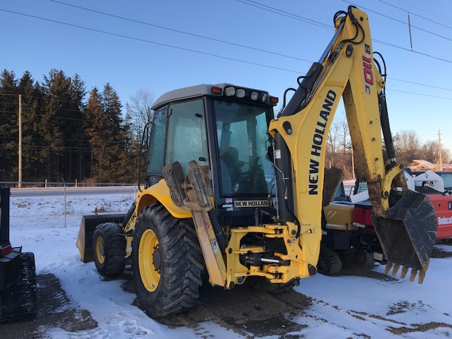 New Holland B110C Loader Backhoe for sale