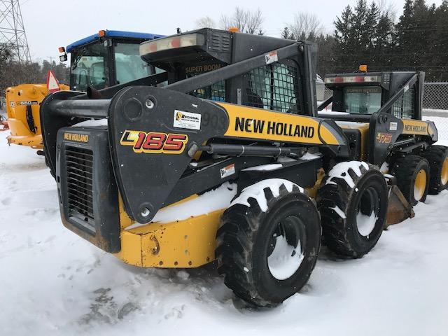 New Holland L185 skid steer loader for sale