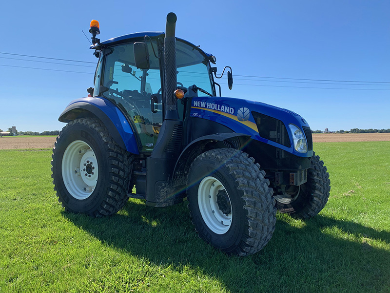 2018 NEW HOLLAND T5.100DC (DUAL COMMAND) TRACTOR