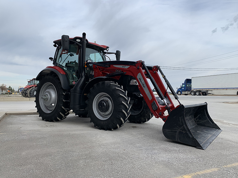 2017 CASE IH MAXXUM 145 CVT TRACTOR WITH LOADER