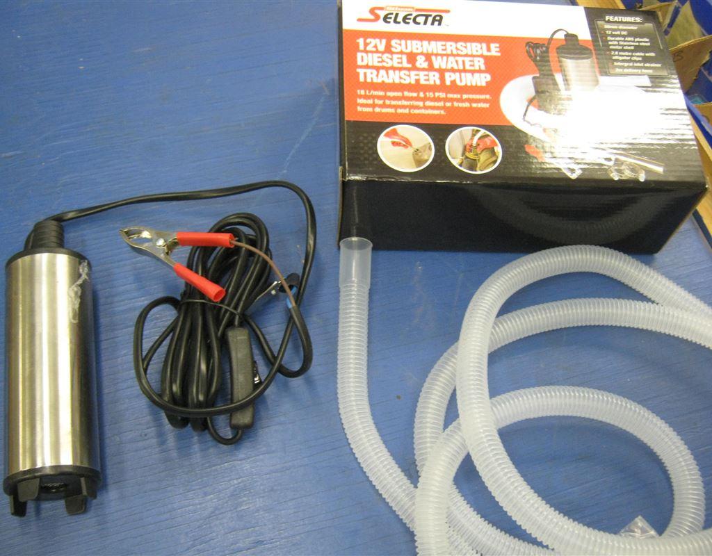 12 Volt Diesel/Water Pump