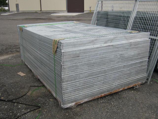 6'x10 Galvanized Construction Fencing