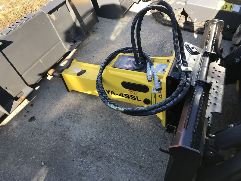 WD Hammer Breaker for sale for skid steer loader