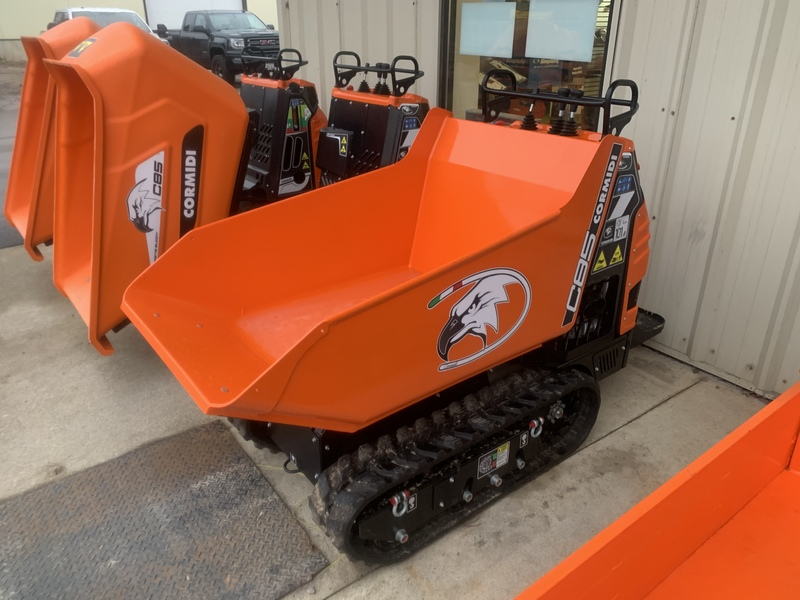 Cormidi track dumpers for sale