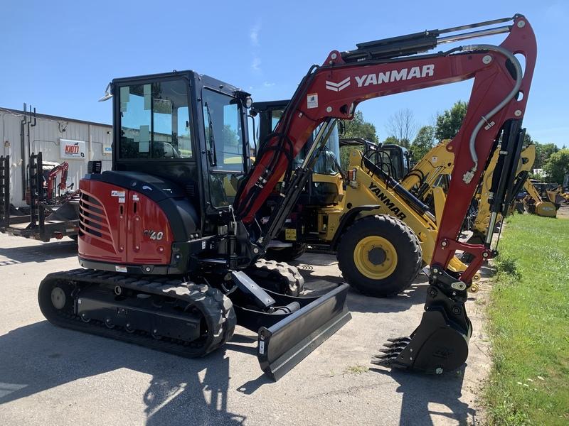 Yanmar SV40 excavator - NEW MODEL!