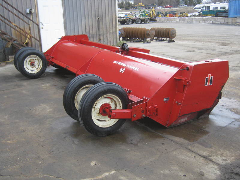 Mowers  International 60 Flail Mower Photo
