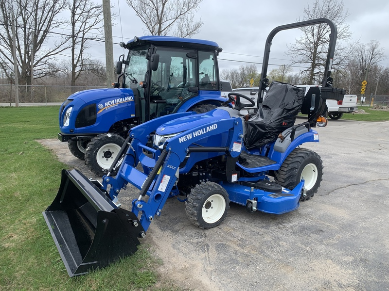 New Holland Workmaster 25S sub compact tractor