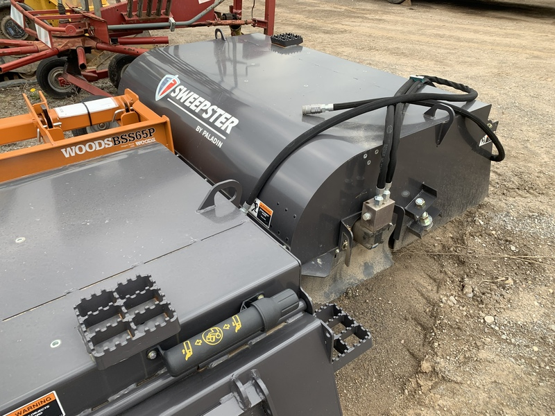 """60"""" Sweepster pick up sweeper attachment"""