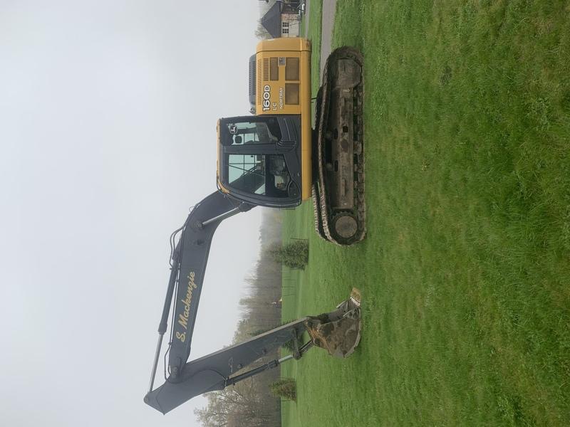 JOHN DEERE 160D LC Excavator