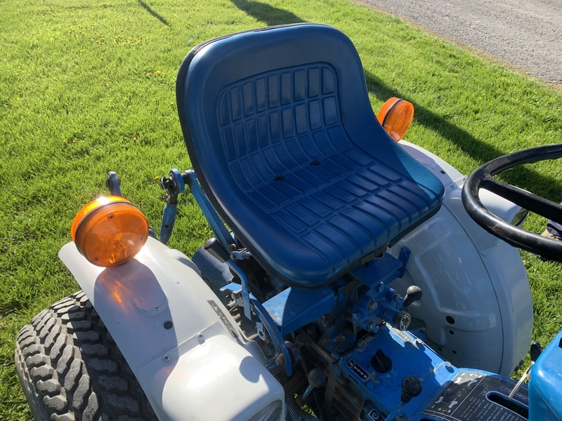 FORD 1210 Compact Tractor with attachments