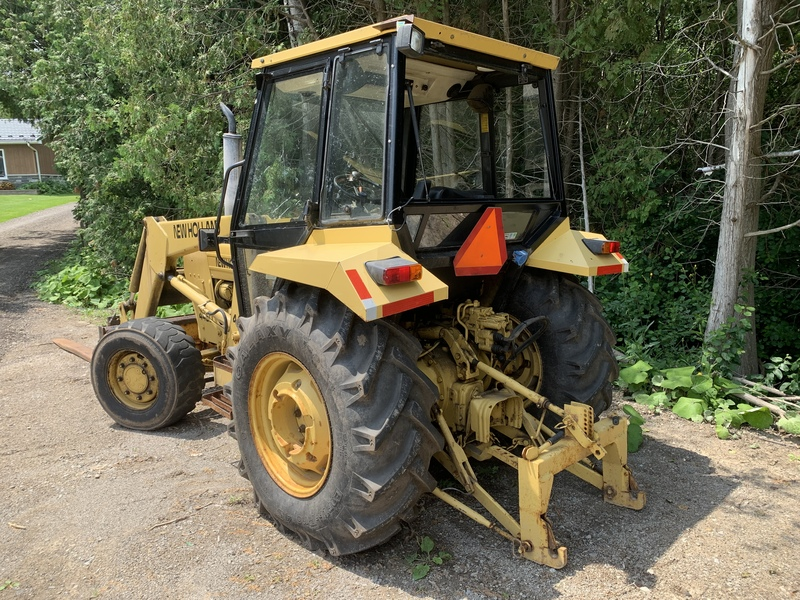New Holland 445D Industrial Loader Package