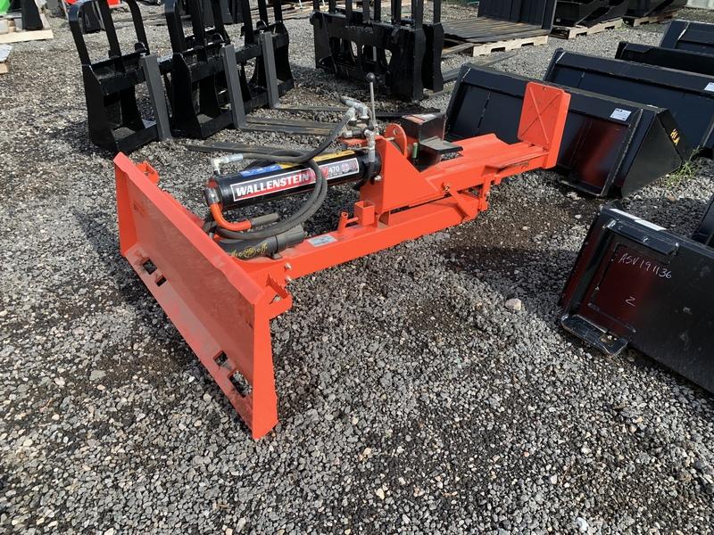 Wallenstein WX470 wood splitter for skid steer
