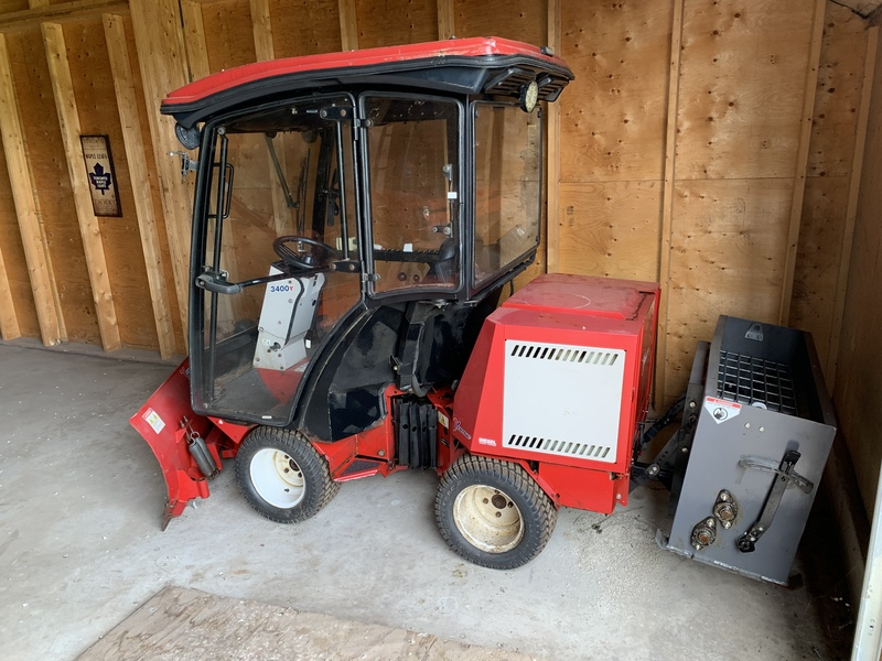 Ventrac 3400Y with plow and salter for sale