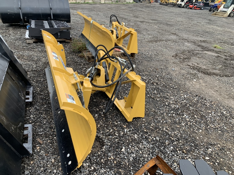 "HLA 2000 84"" hydraulic angle plow"