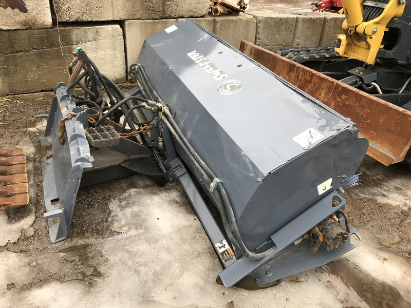 Sweepster QCSS7 sweeper for sale
