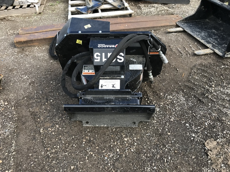 Bradco SG15 stump grinder for mini skid steer
