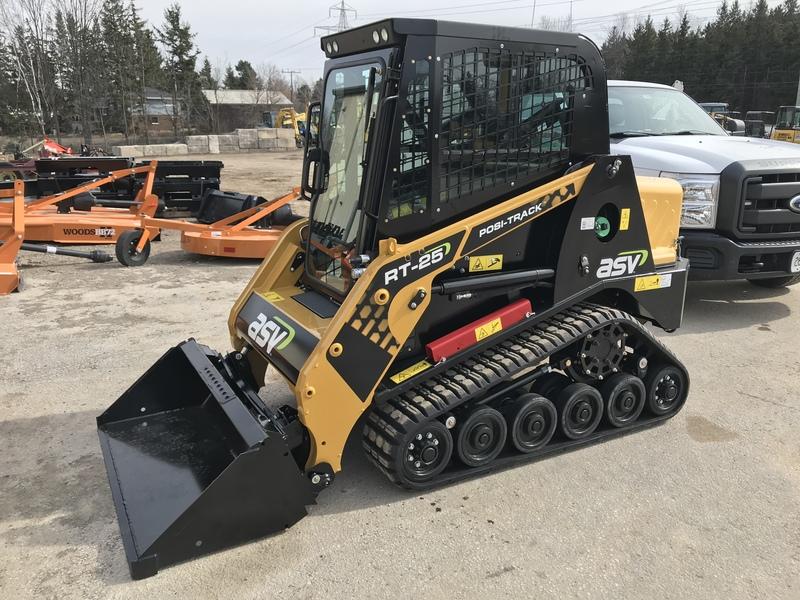"""ASV RT25 48"""" wide track loader - new model !"""