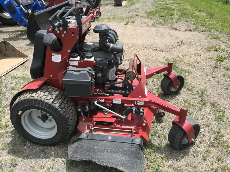 Ferris SRS stand on mower
