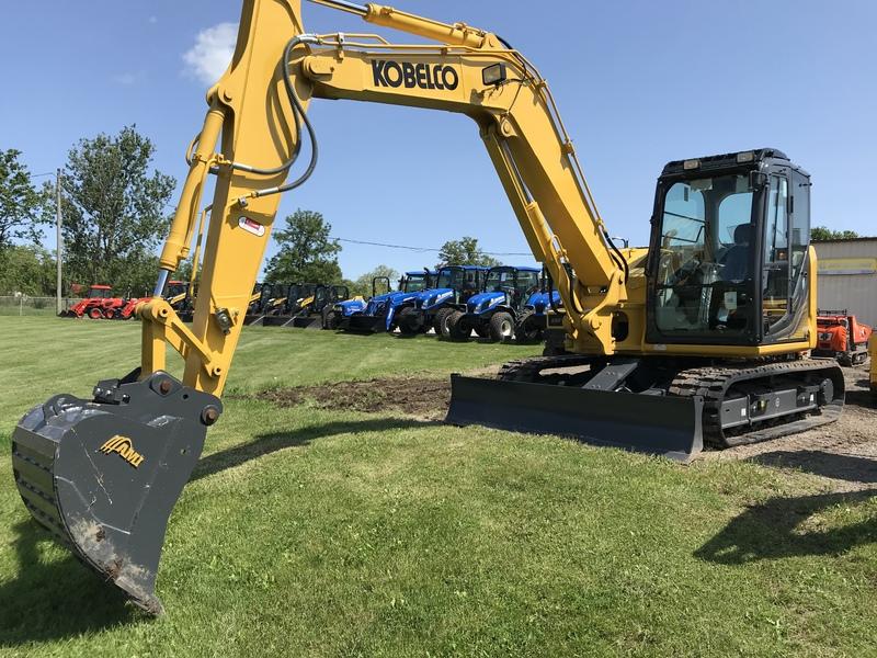 Kobelco SK85 excavator