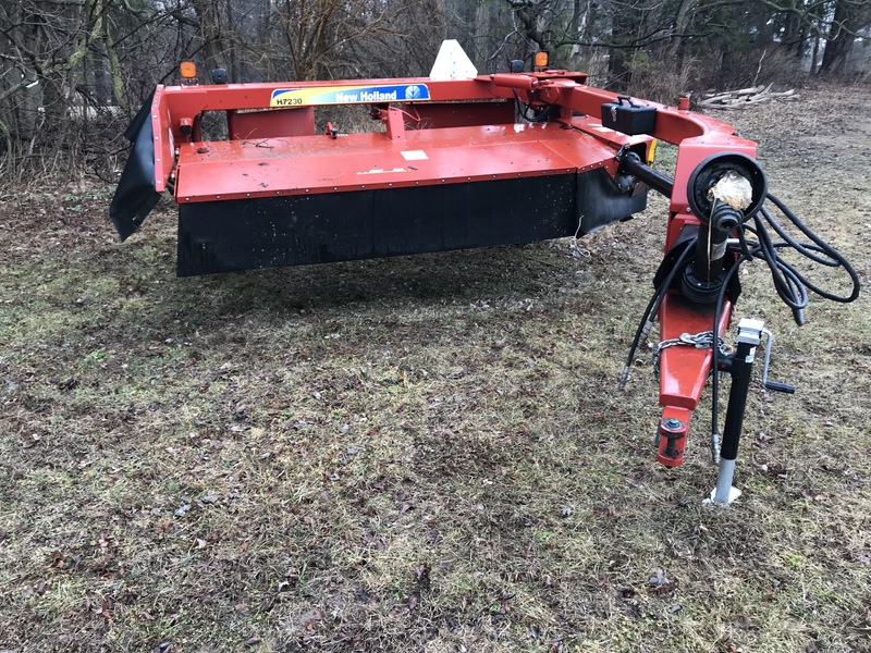 New Holland H7230 discbine for sale