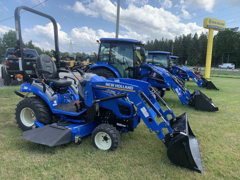 New Holland Workmaster 25S subcompact tractor