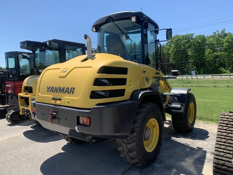 Yanmar V12 compact wheel loader