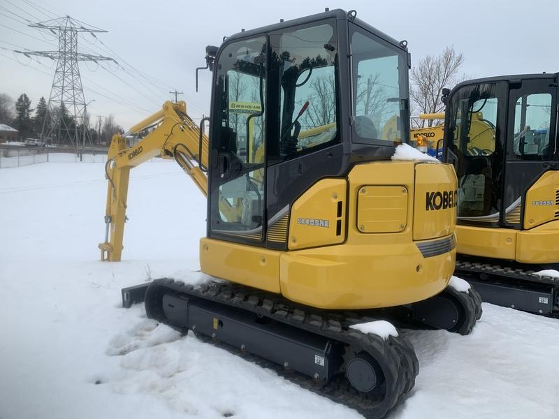 Kobelco SK45 mini excavator