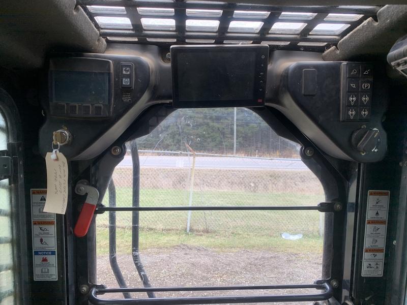 ASV RT120F Forestry Model Compact Track Loader HI FLOW