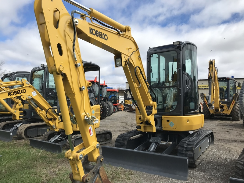 Kobelco SK35 mini excavator for sale
