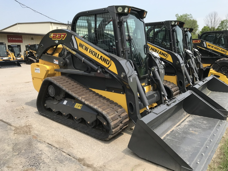 New Holland C237 Compact Track Loader