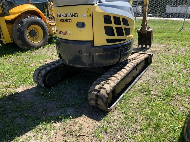 New Holland E27B Mini Excavator