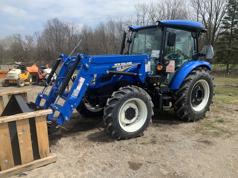 New Holland Workmaster 75 tractor with loader