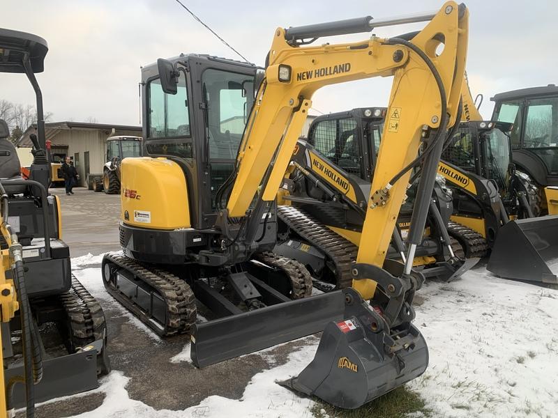 New Holland E26C mini excavator