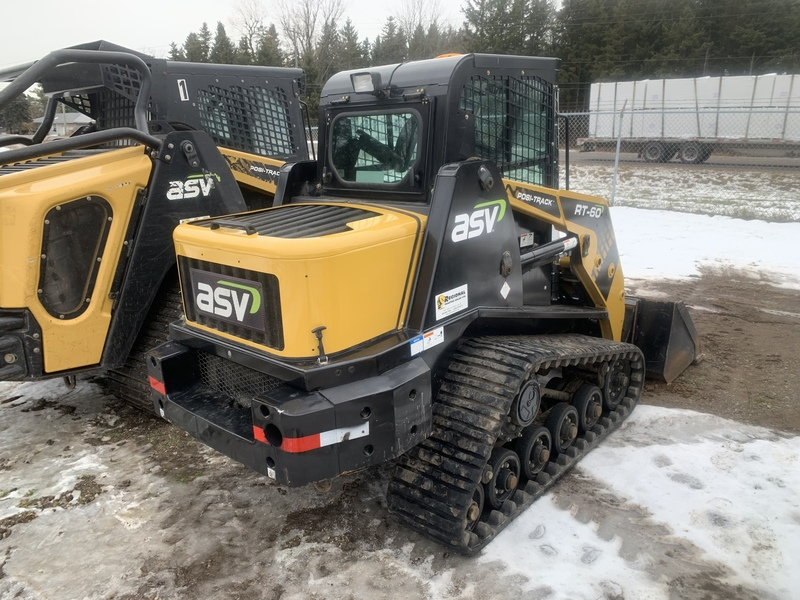 ASV RT60 compact track loader - 350hrs