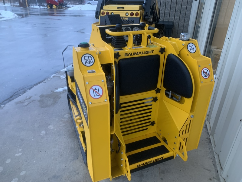 Baumalight TRL620D stand on track loader