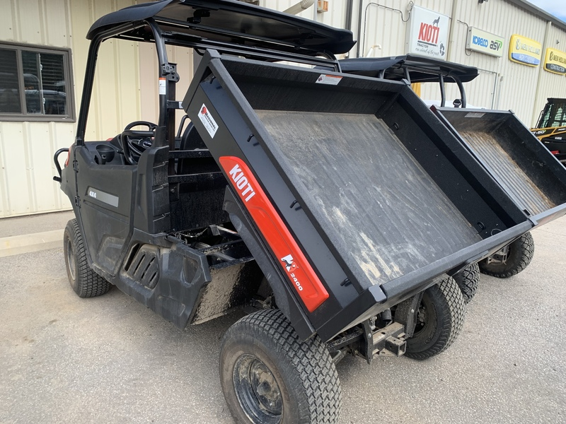 Kioti K9 UTV DEMO for sale