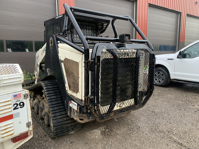 TEREX PT110F forestry model track loader with mulcher