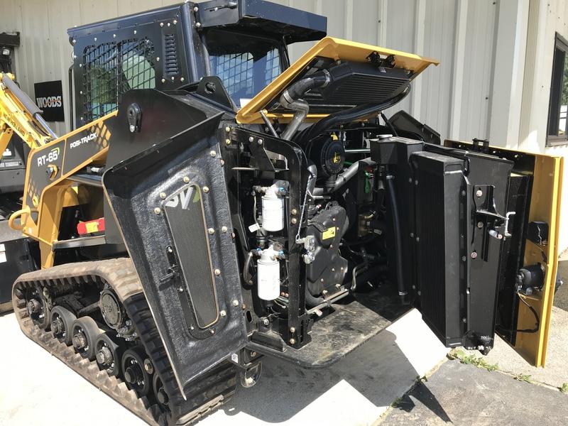 ASV RT65 Compact Track Loader - New Model