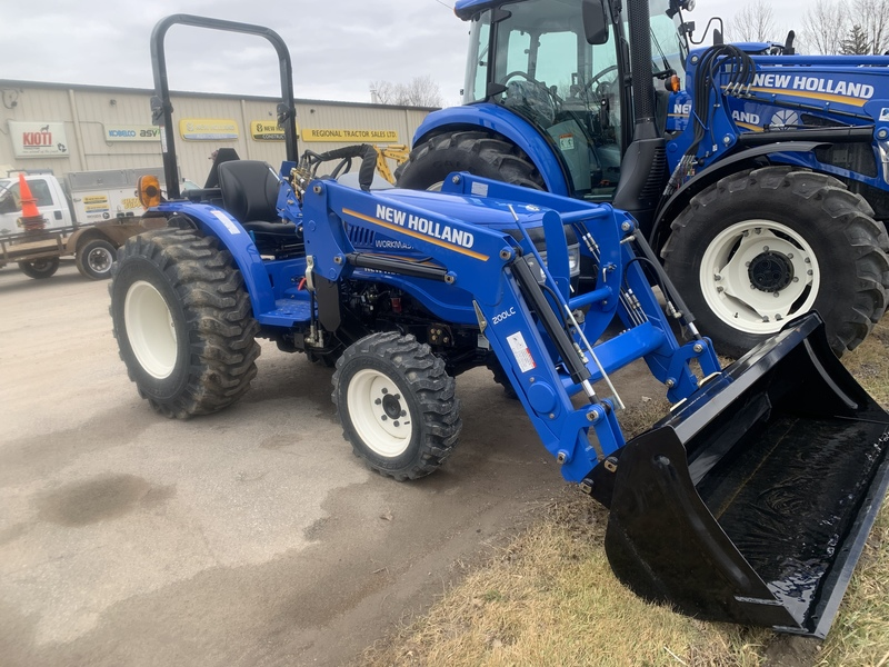 New Holland Workmaster 25 with 0 down, 0-60, 2021 payments !