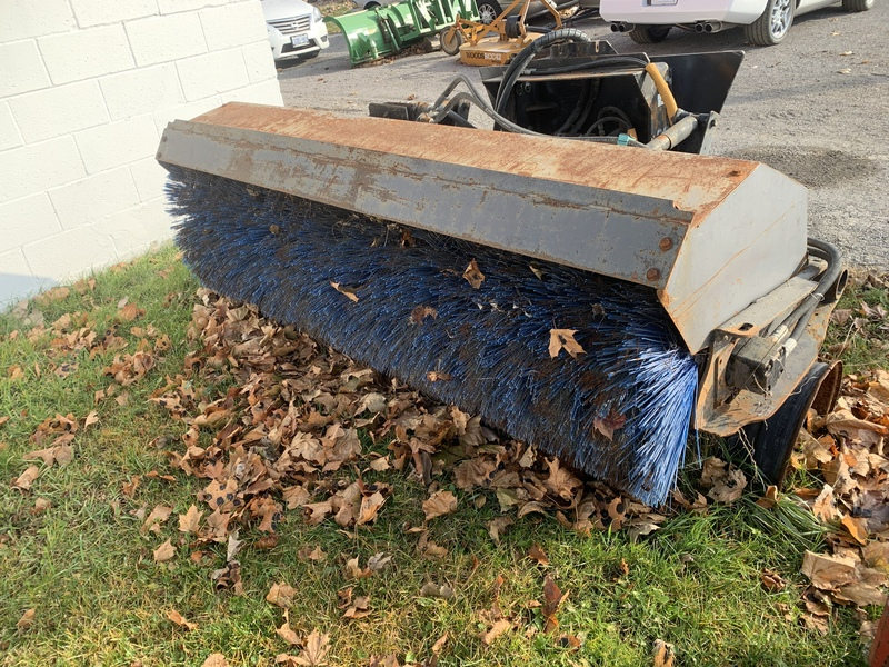 Hydraulic Angle Sweeper Attachment