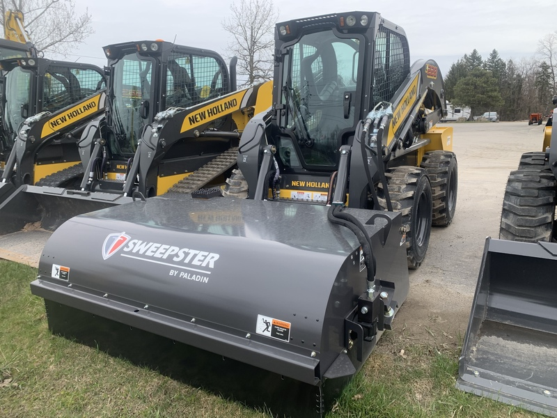 Sweepster pick up sweeper attachments