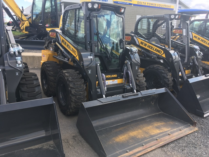 2019 NEW HOLLAND L220 SKID STEER LOADER