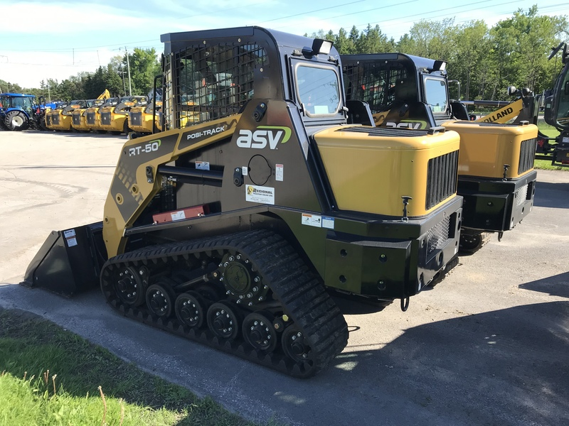 ASV RT50 compact track loader for sale