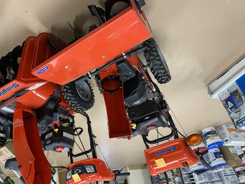 SImplicity 2 stage snow blowers for sale